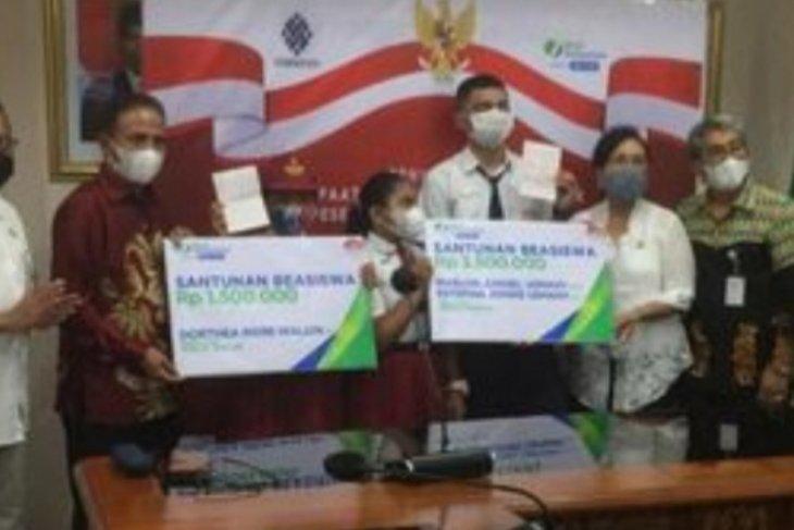 BPJAMSOSTEK bantu beasiswa pendidikan bagi 83 anak di Maluku