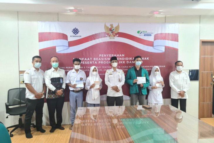 32 orang anak di Banda Aceh dapat beasiswa BP Jamsostek