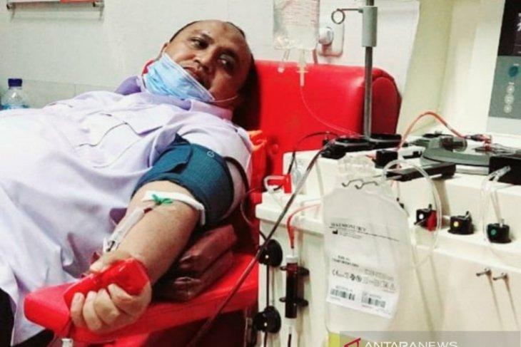 Bantu pasien COVID-19, Ketua DPRD Kota Bogor donor plasma konvalesen
