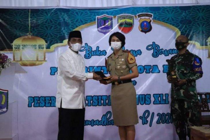 Amir Hamzah buka puasa bersama Latsitarda Nusantara