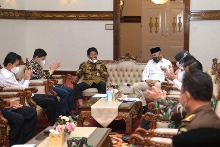 Bertemu Itjet Kementan, ini Komitmen Pemerintah Aceh
