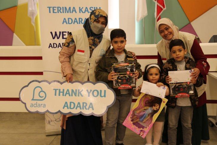 Adara salurkan bantuan langsung untuk pengungsi Palestina di Lebanon