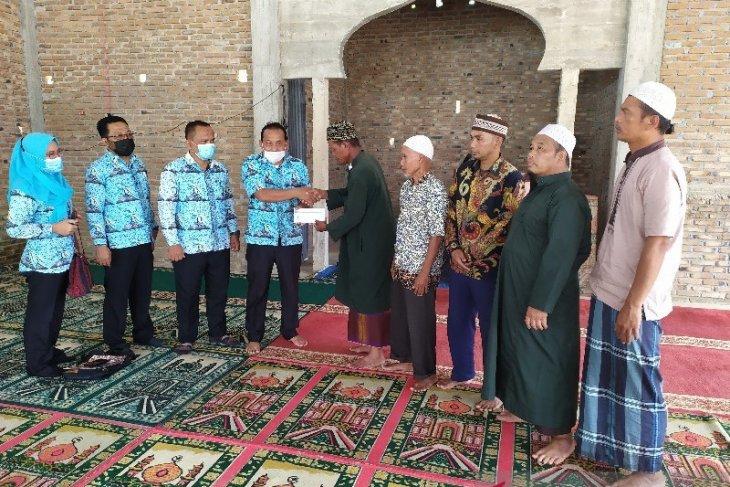 Ramadhan Berbagi, Perumda Tirta Uli Pematangsiantar bantu masjid