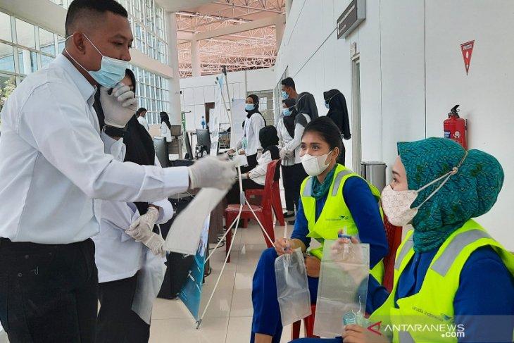 Bandara Syamsudin Noor siapkan 300 kantong tes GeNose C19 setiap hari