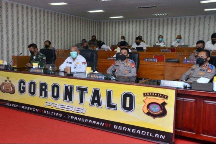 Pemprov Gorontalo sosialisasikan larangan mudik di sejumlah posko