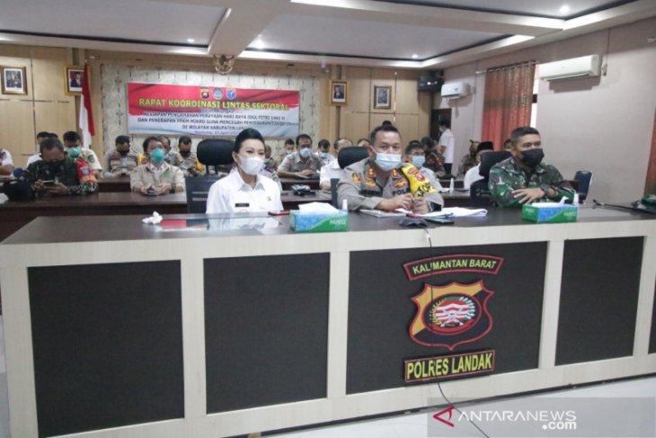 Kabupaten Landak tunggu arahan Gubernur terkait penerapan PPKM mikro