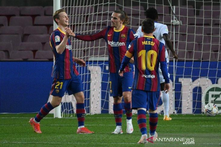 Barcelona hajar Getafe 5-2, Lionel Messi cetak dua gol