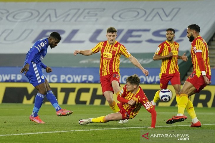 Liga Inggris, Leicester kembali ke jalur kemenangan saat gasak West Brom 3-0