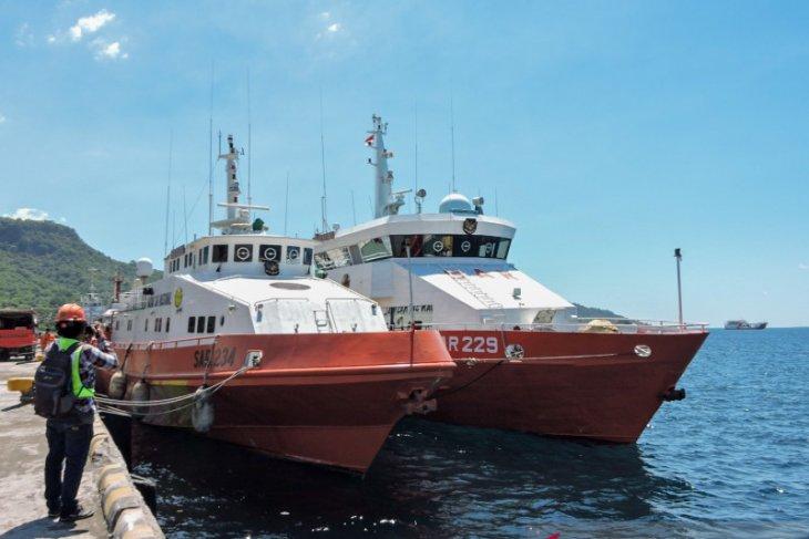 Tiga kapal dan satu unit ROV milik Basarnas diperbantukan pencarian Nanggala-402