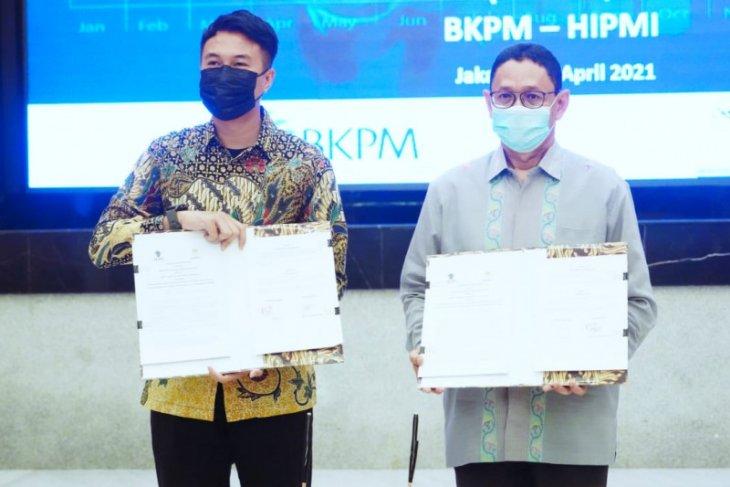 BKPM-Hipmi tandatangani kerja sama fasilitasi UMKM naik kelas