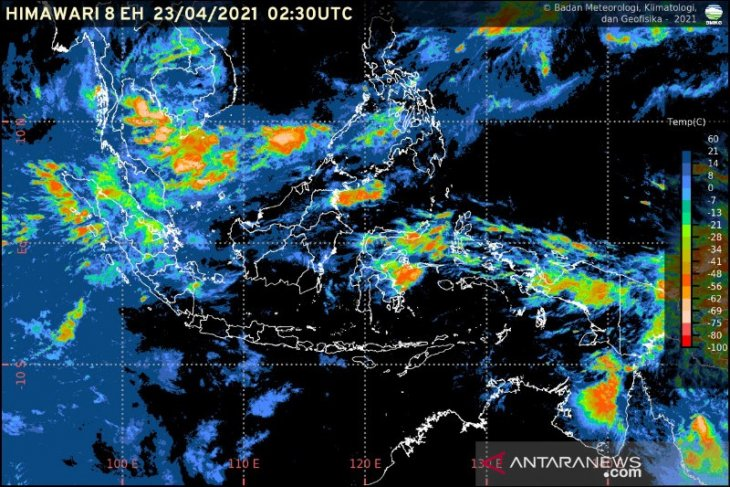 BMKG keluarkan peringatan dini akan potensi hujan di Indonesia