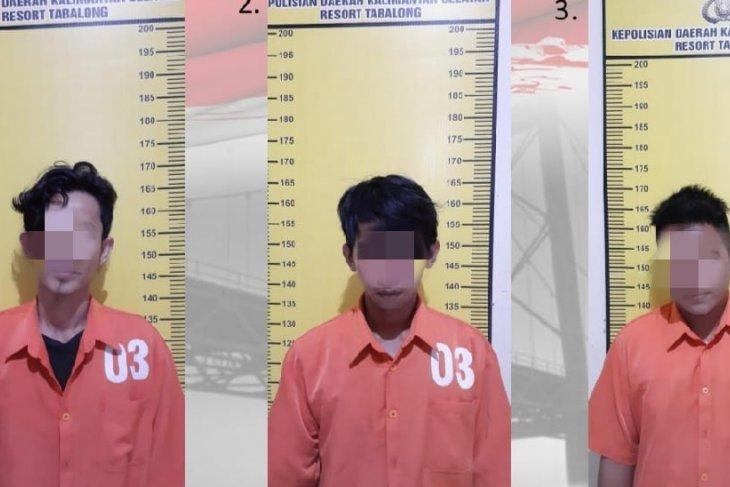 Satresnarkoba Polres Tabalong amankan tiga tersangka sabu