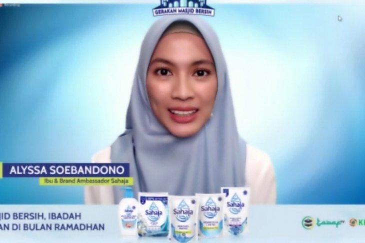 Alyssa Soebandono ingatkan suami saat akan ke masjid