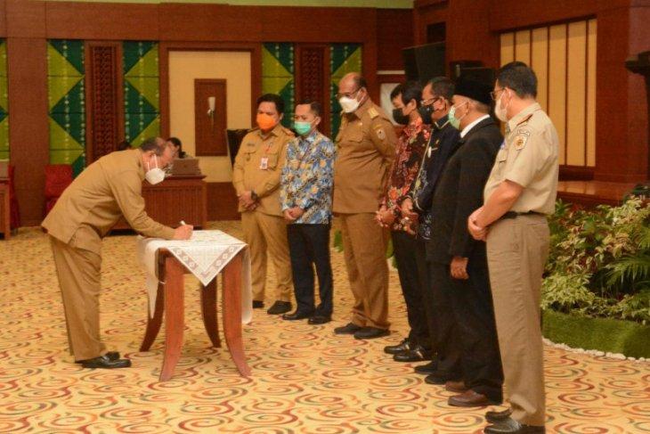 Bupati Tabalong ikuti Rakor pencegahan korupsi