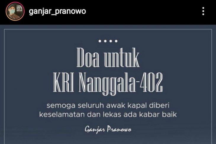 Ganjar doakan keselamatan awak KRI Nanggala-402