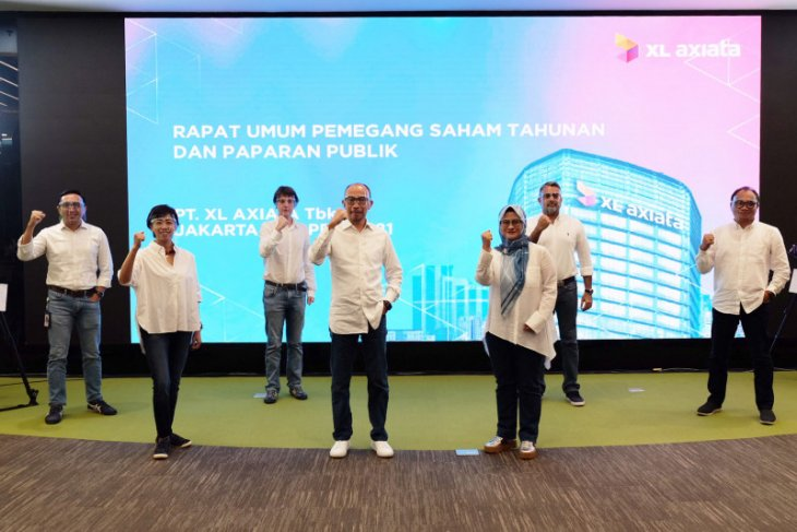 RUPS tahunan 2021 XL Axiata Bagikan Dividen Rp 339,4 Miliar