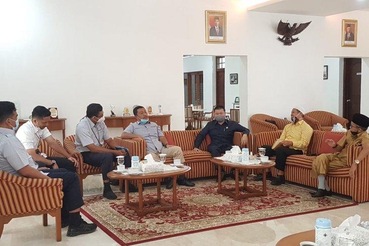 Komisi III Temui PT Timah Bahas Penambangan Laut Di Toboali.