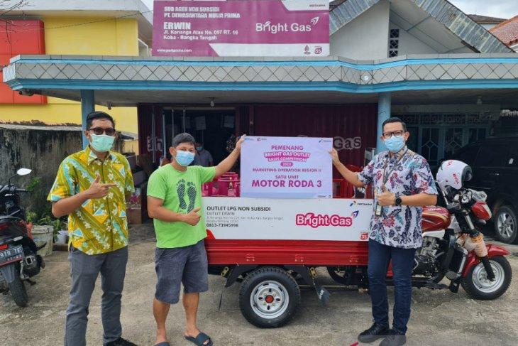 Agen Bangka Raih Penjualan Tertinggi Dalam Kompetisi LPG Non PSO