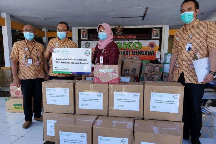 BPJS Kesehatan Jember berikan bantuan korban gempa di Lumajang