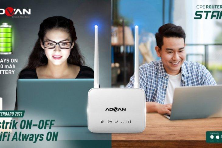 Advan hadirkan perangkat router start