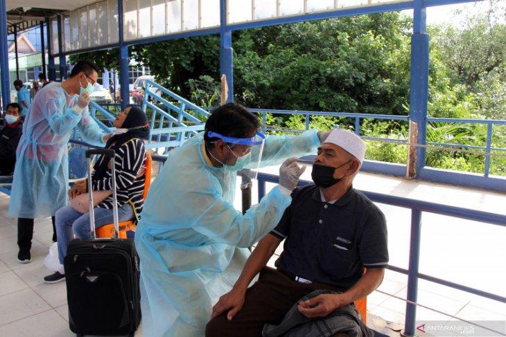 Kasus COVID-19 di Riau naik hampir dua kali lipat