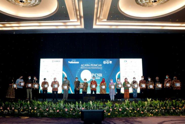 Majalah Top Business kembali berikan penghargaan CSR