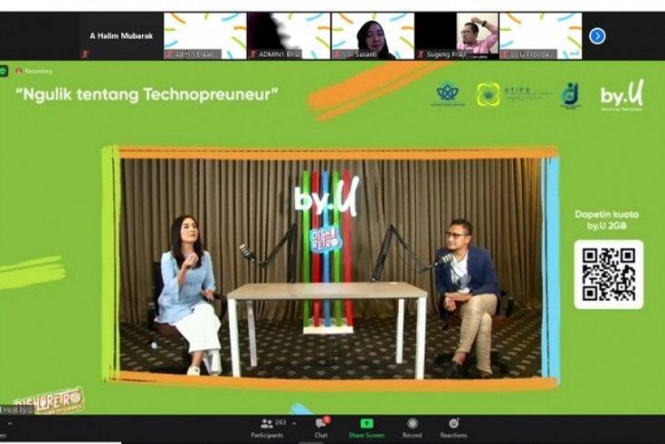 UTIPD UIN STS Jambi dan by.U gelar webinar nasional  'Ngulik tentang technoprenuer
