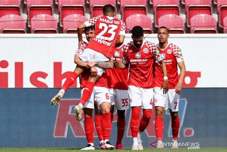 Mainz menang atas Bayern Muenchen dan tunda pesta juara