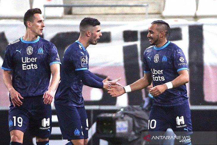 Marseille  ke posisi lima setelah kalahkan Reims