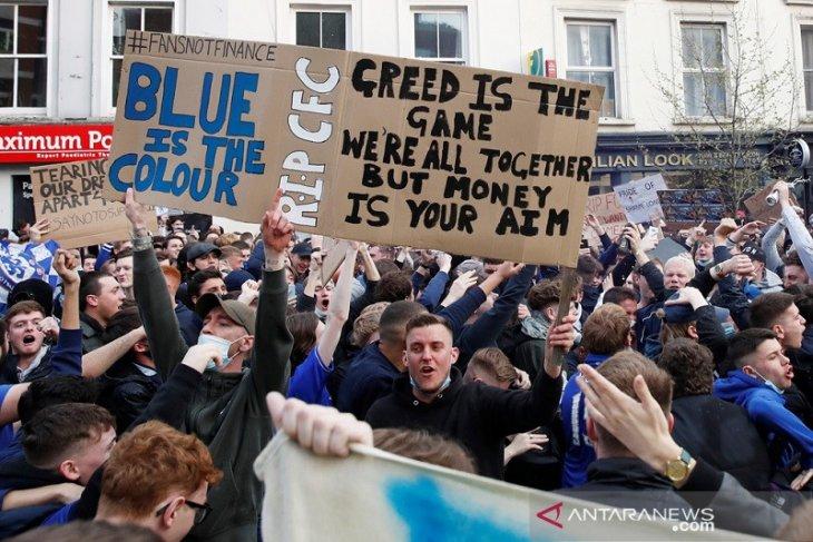 Chelsea  sesali keputusan gabung proyek Liga Super Eropa