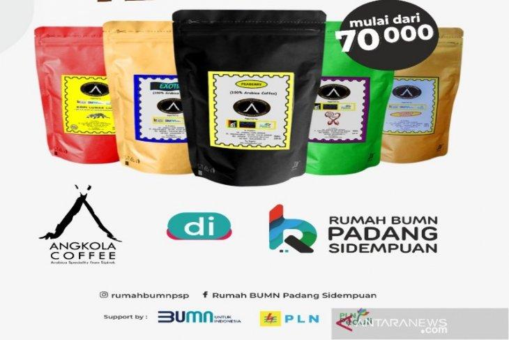 Selama Ramadhan penjualan produksi Arabika Sipirok UD AKS Coffe jauh meningkat