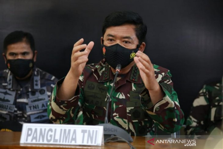 Panglima TNI: Fase pencarian KRI Nanggala-402 dinaikkan dari submiss menuju subsunk