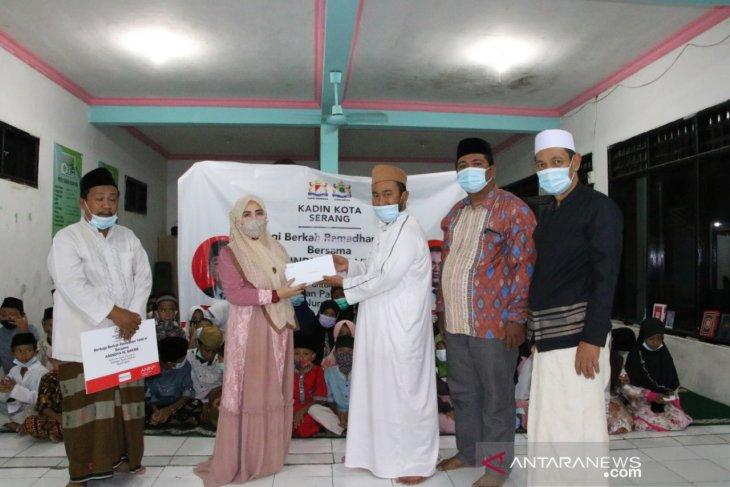 Anindya Bakrie santuni ratusan anak yatim dan dhuafa di Kota Serang