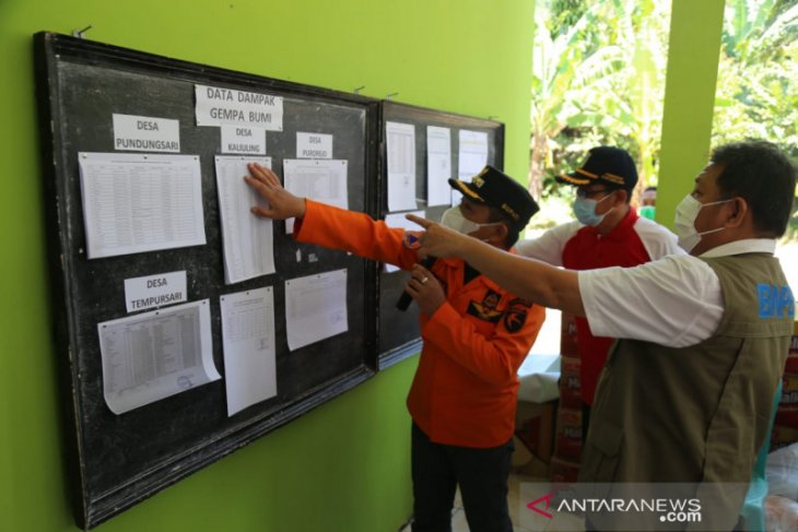 Bupati Lumajang  laporkan 3.361 rumah rusak akibat gempa ke BNPB