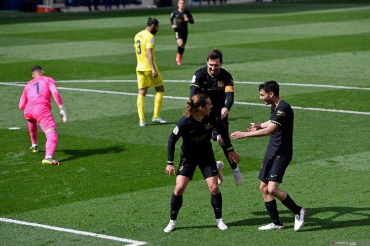 Liga Spanyol, dua gol Griezmann bawa Barcelona menang atas Villarreal
