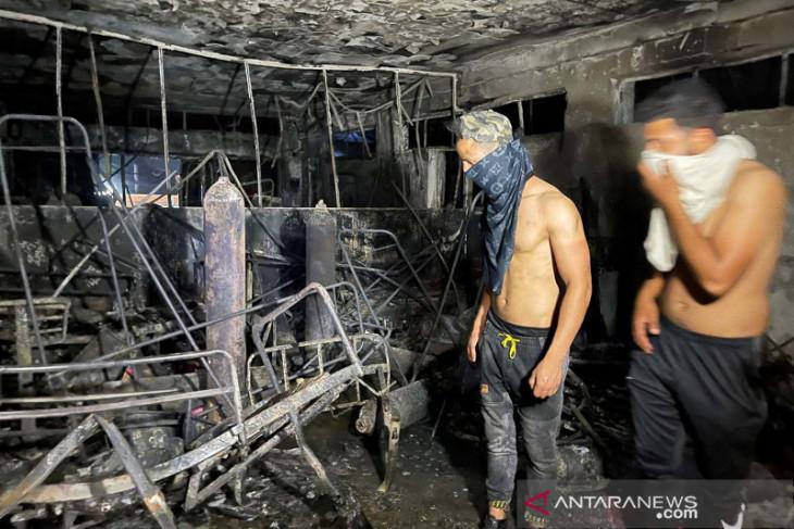 Kebakaran RS virus corona Irak, 42 tewas dan 60 terluka