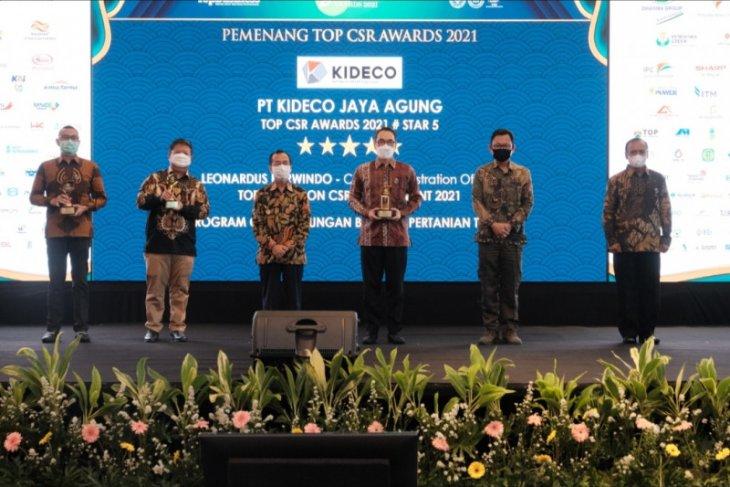 PT Kideco raih tiga penghargaan TOP CSR Awards 2021
