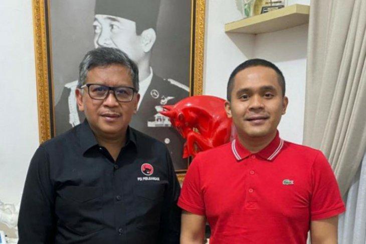 Kader PDIP Sumut silaturahmi dengan Sekjen Hasto Kristiyanto
