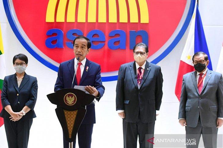 Airlangga Hartarto paparkan 5 strategi ACRF integrasikan ekonomi ASEAN