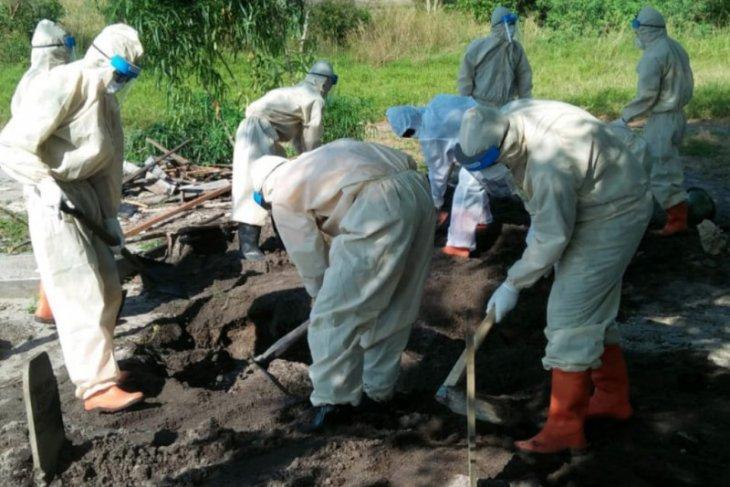 Pasien COVID-19 di Bangka meninggal dunia capai 40 orang