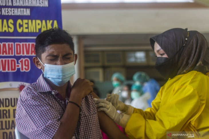 Banjarmasin sasar 1.000 orang pada gebyar Jumat vaksinasi COVID-19