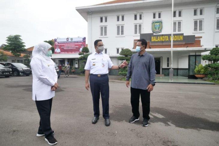 Wali Kota Madiun belajar penataan kota tua ke Anies Baswedan