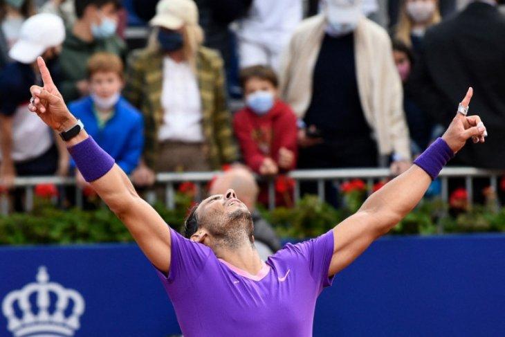 Nadal mengklaim titel ke-12 di Barcelona Open setelah tundukkan Tsitsipas