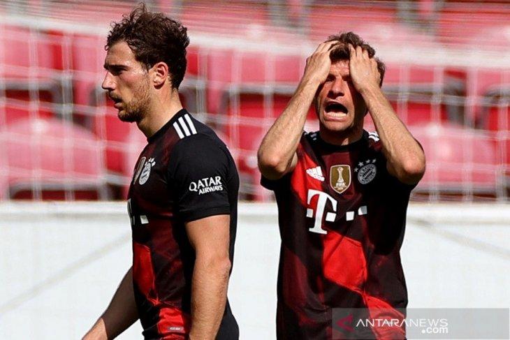 Klasemen Liga Jerman: Bayern batal kunci juara gara-gara Mainz
