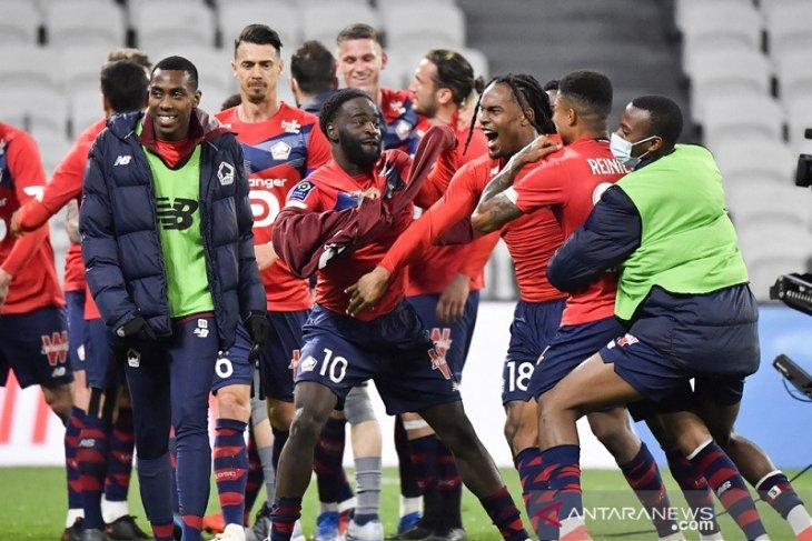 Klasemen Liga Prancis: Lille terus pimpin perebutan juara berlangsung sengit