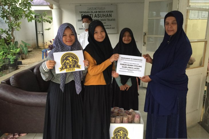 Momentum Ramadhan, FBCC Aceh berbagi takjil di Panti Asuhan