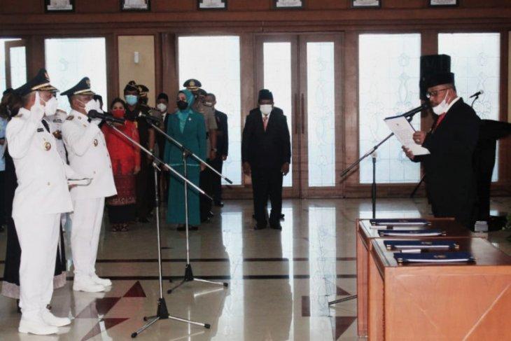 Gubernur Maluku lantik Bupati - Wabub MBD periode 2021 - 2026