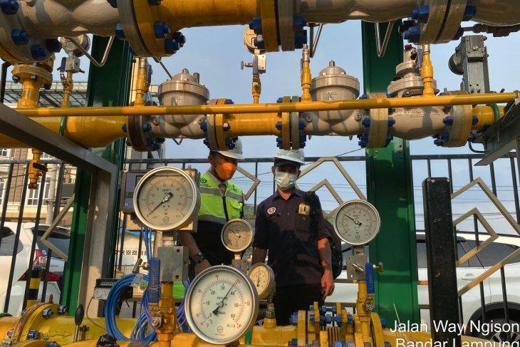 Kepala BPH Migas kunjungi PT PGN Lampung awasi pemanfaatan gas