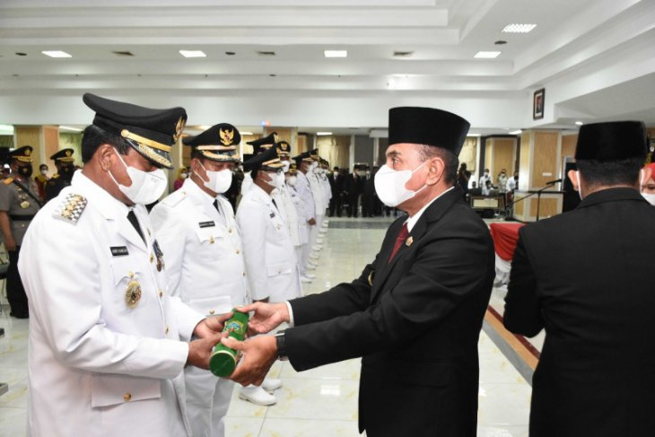 Gubsu lantik Amir Hamzah jadi Wali Kota Binjai