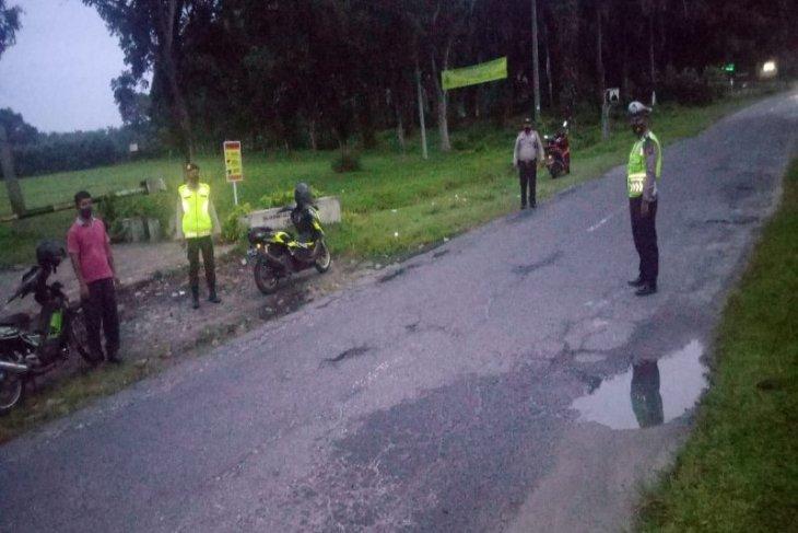 Polres Simalungun patroli Subuh antisipasi balap liar di Bulan Ramadhan